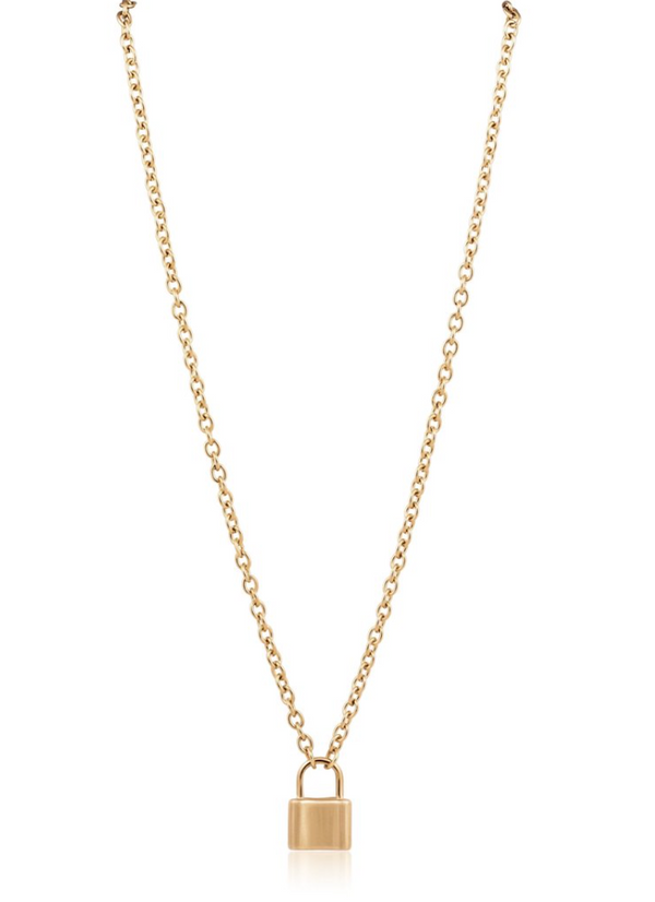 Jane Lock Necklace 18""