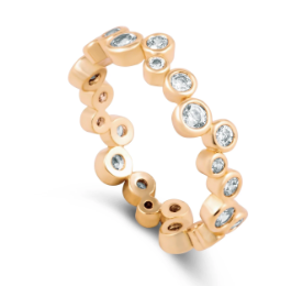 Claire Eternity Ring - Arktana