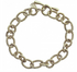 CONN7BR-SML Connection Bracelet - Brass