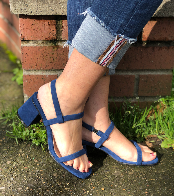 Simple Block Sandal