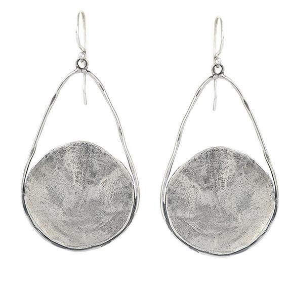Nomad Earrings in Sterling Silver
