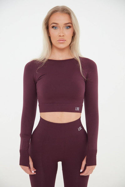 Compact active Top - Burgundy - Little By Little