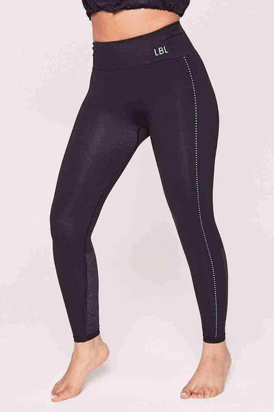 Black training Leggings - Little By Little