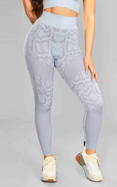 Caitlin Seamless Leggings - Grey - Little By Little
