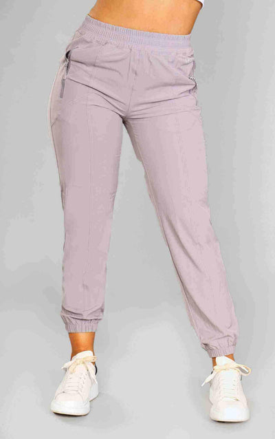 Diana Track Pants - Light Grey - Little By Little