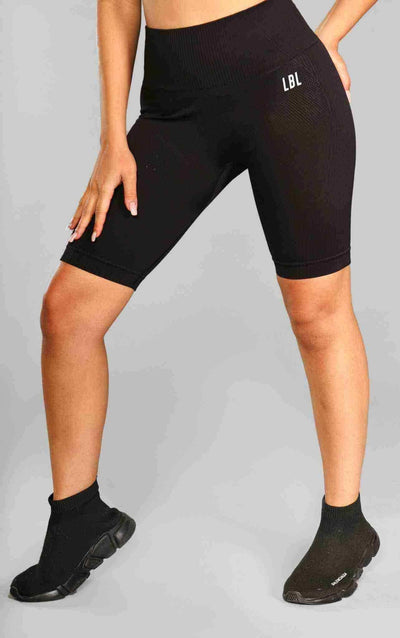 Molly Cycling Shorts - Black - Little By Little