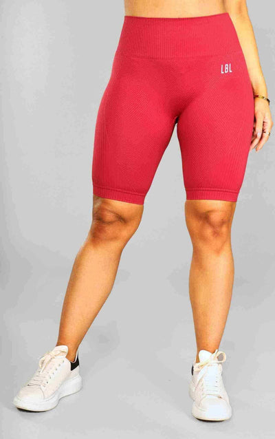 Molly Cycling Shorts - Red - Little By Little