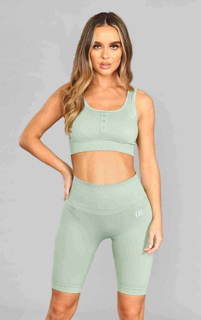 Molly Sports Bra - Green - Little By Little