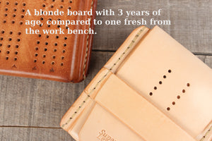 Travel Cribbage Board - Blonde
