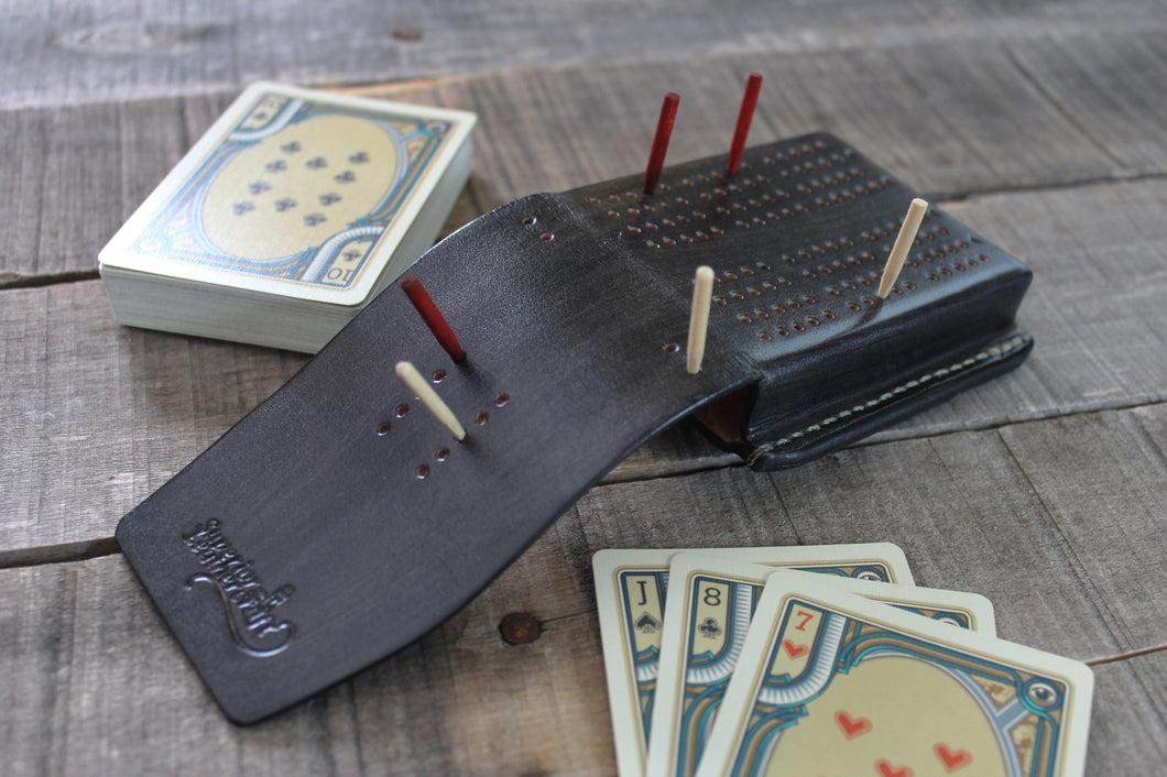 Travel Cribbage Board - Granite