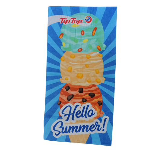 Beach Towel - Hello Summer