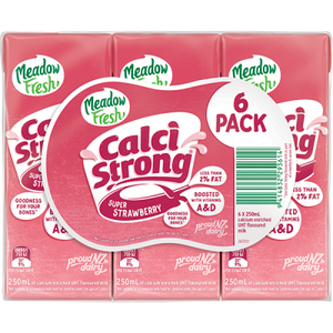 Calci Milk Strawberry 6pk