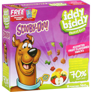 Scooby Doo Fruit Bars 8pk
