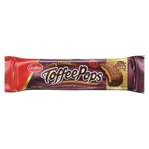 Toffee Pops - Berry 200g