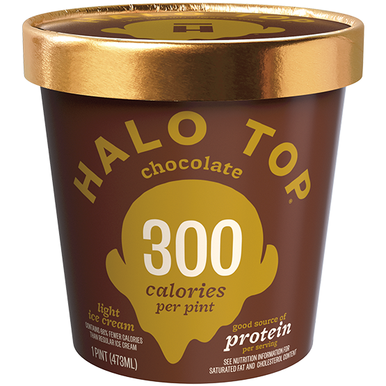 Halo Top Chocolate Ice Cream 473mL