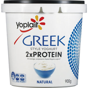 Yoplait Greek Natural Protein 900g