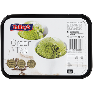 Talley's Ice Cream 1L - Green Tea