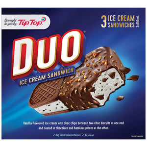 Tip Top Ice Cream Sandwich Duo 3pk