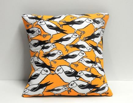 Cushion - Endangered Forty Spotted Pardalote (square)