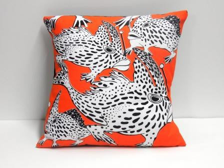 Cushion - Endangered Spotted Handfish (square)