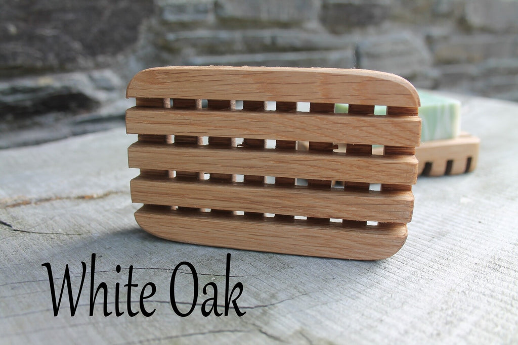 Wooden Draining Soap Dish
