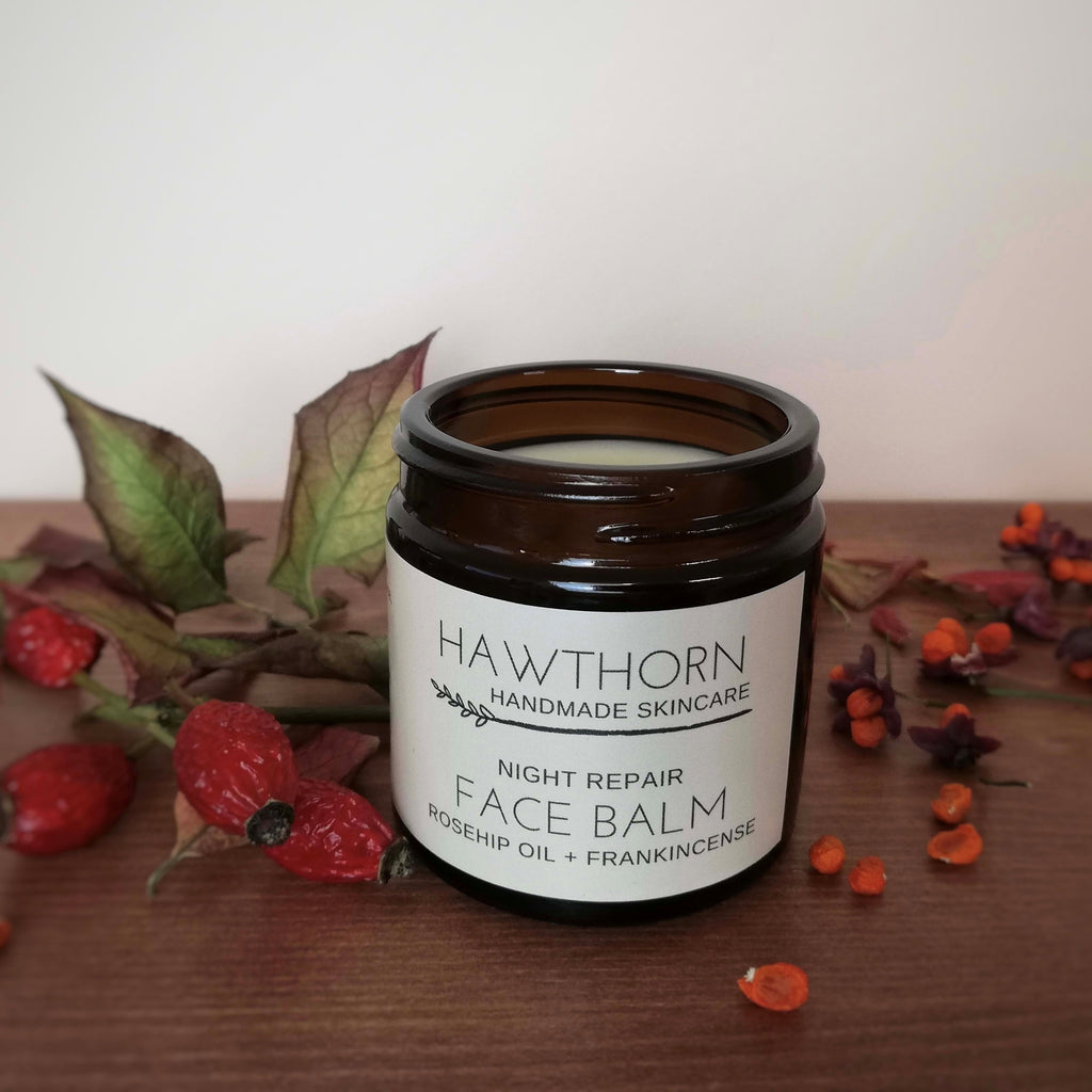 Night Face Balm - Rosehip + Frankincense - 60ml