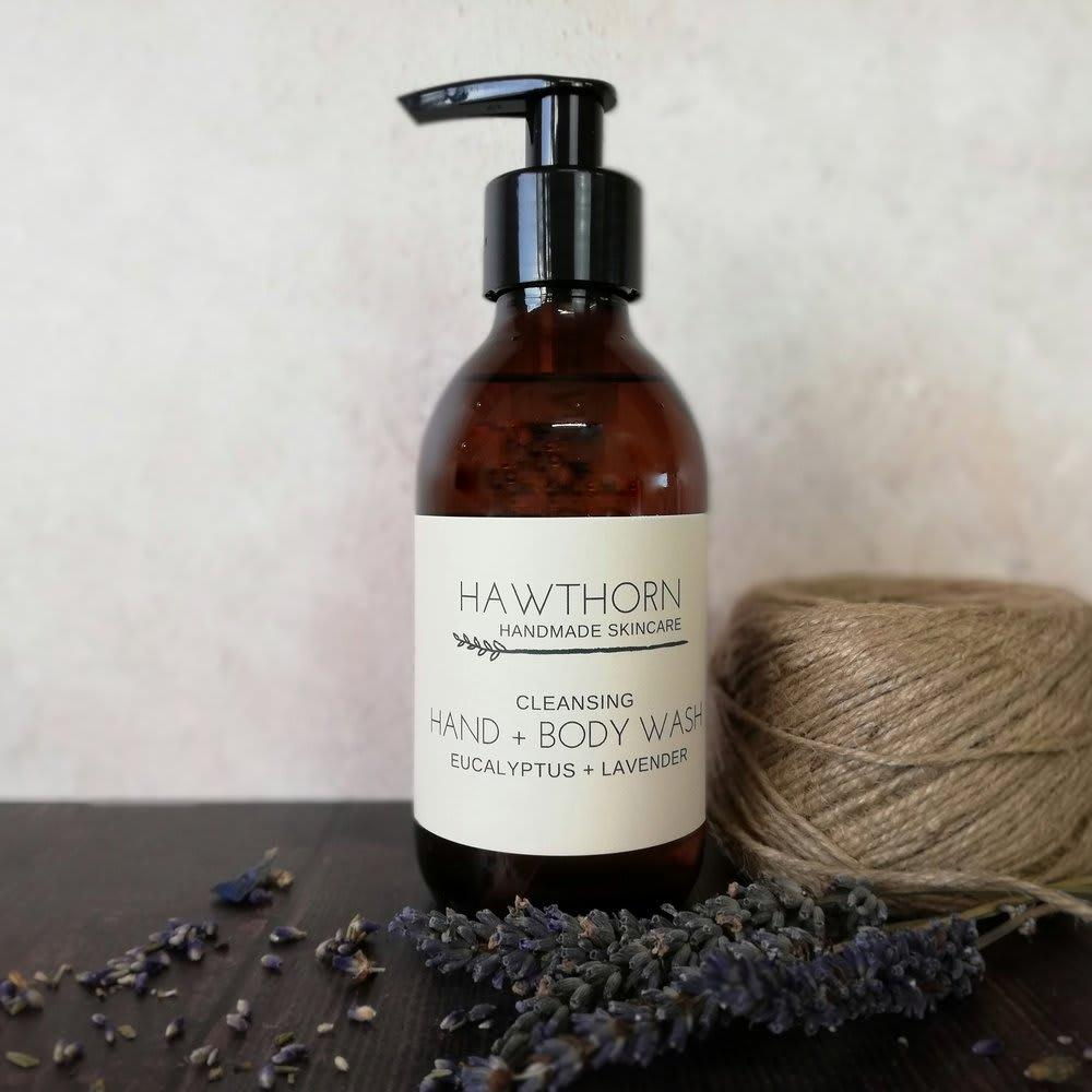 Cleansing Hand + Body Wash - Eucalyptus + Lavender - 200ml