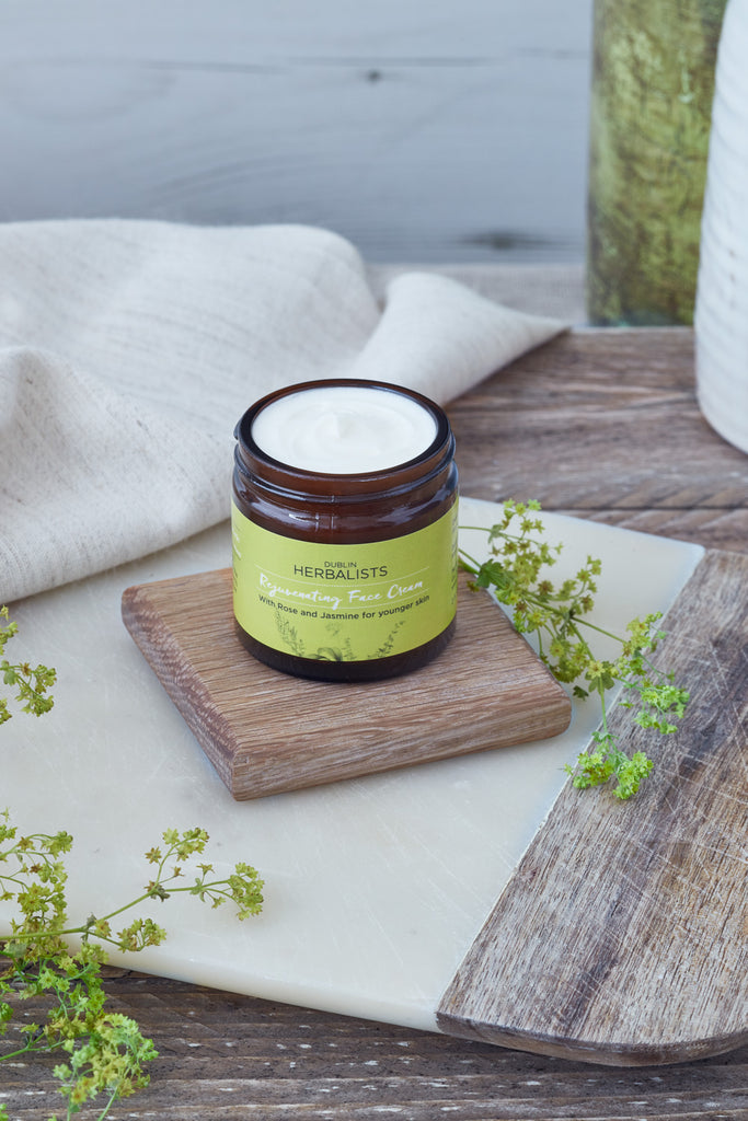 Rejuvenating Face Cream With Rose and Jasmine for younger skin