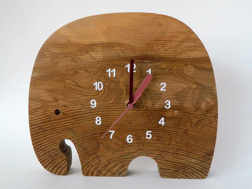 Elephant in the Room Clock