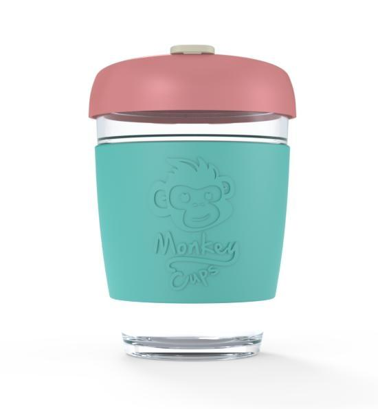 Monkey Cup 340ml Turquoise