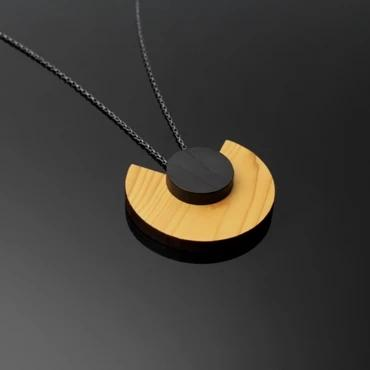 Layer Pendant Cara Natural