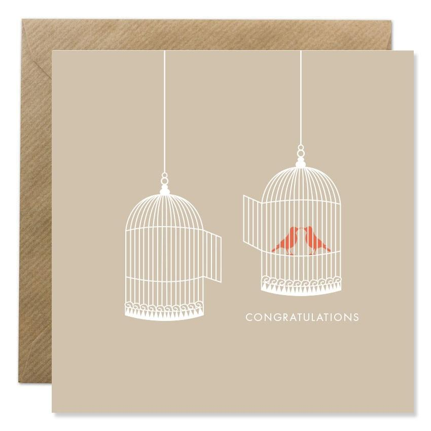 Bird Cage Congratulation