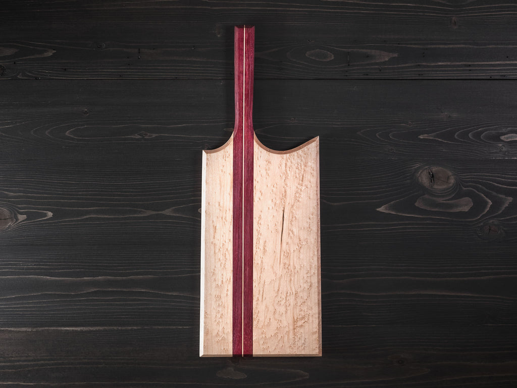 Bird's Eye Maple x Purpleheart Charcuterie Board
