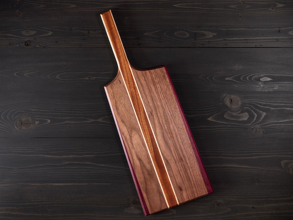 Walnut x Sapele x Maple x Purpleheart Charcuterie Board