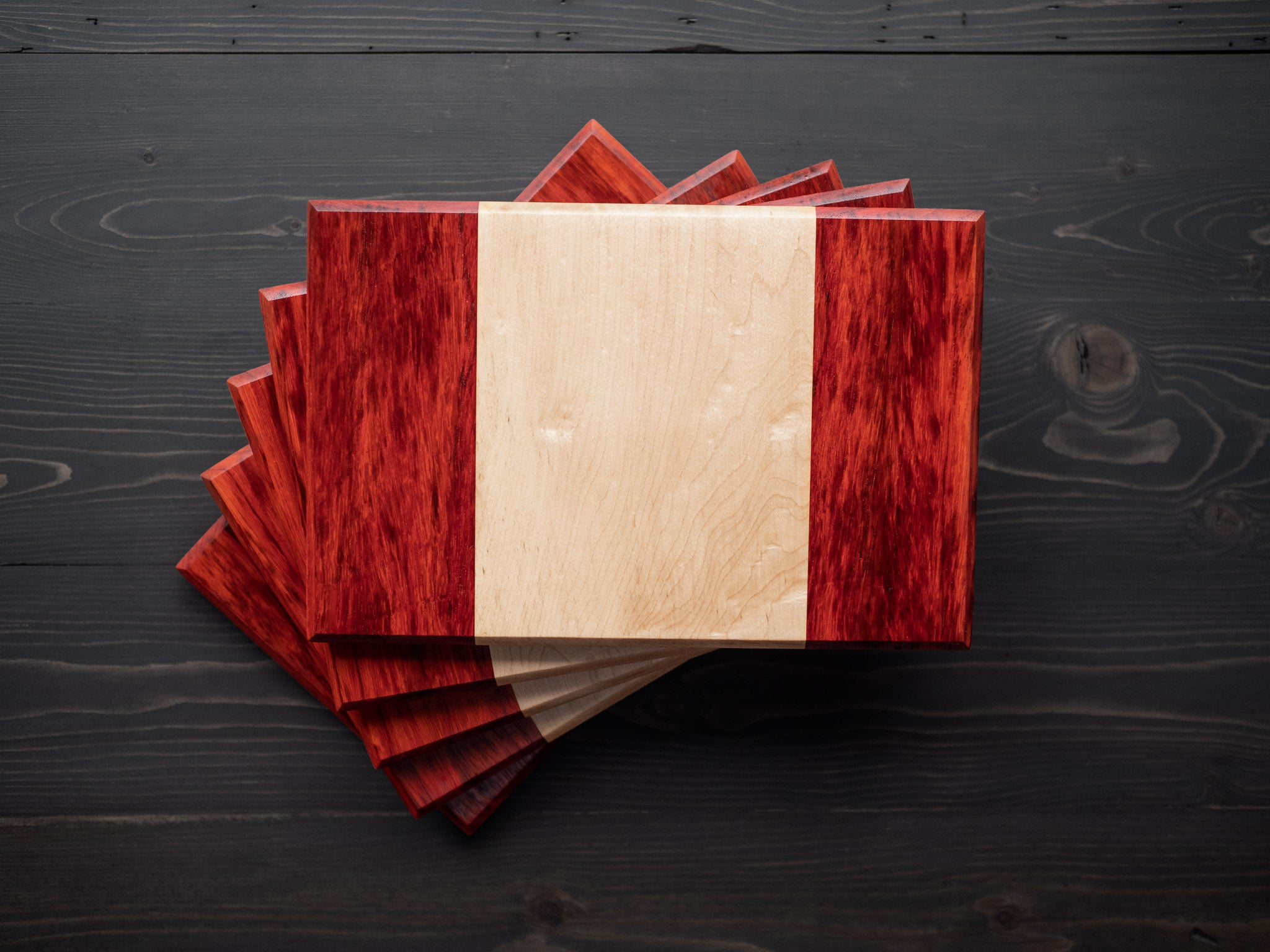 Canadian Flag Charcuterie Board
