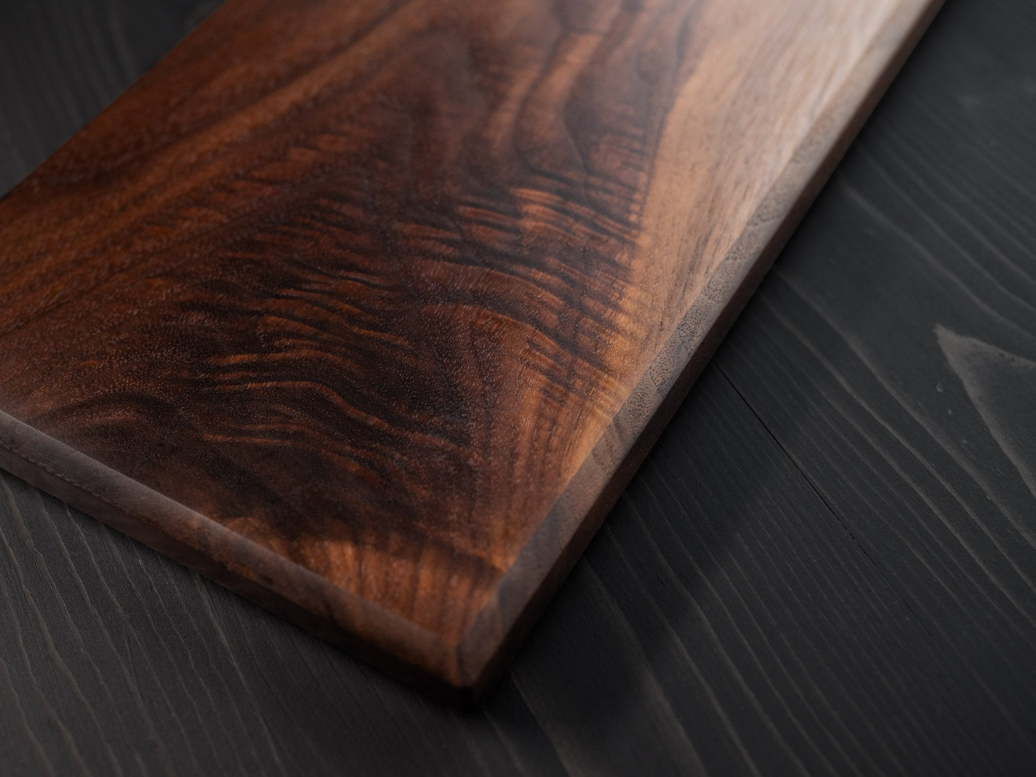 Walnut + Padauk inlay