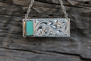 Texas Bar Necklaces- Square