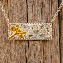 Load image into Gallery viewer, Barrel Racer Bar Necklace