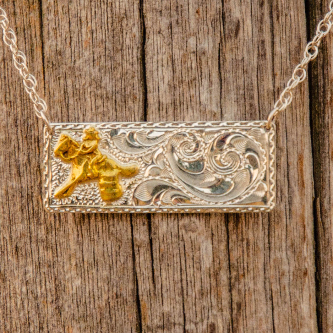 Barrel Racer Bar Necklace