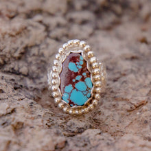 Load image into Gallery viewer, Size 5.5 Turquoise Accent Ring