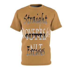 Straight Outta Excuses Tee (AOP) - Obsidian's LLC