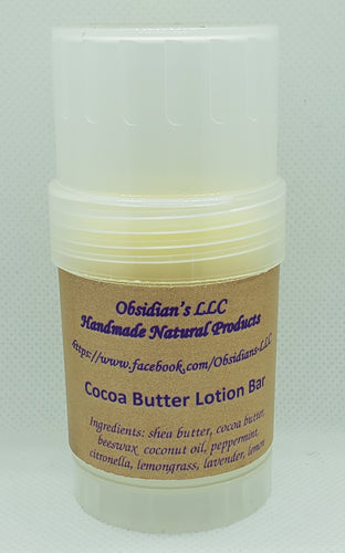 Cocoa Butter Lotion Bar - Obsidian's LLC