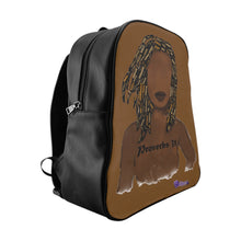 Load image into Gallery viewer, Proverbs 31 Locs School Backpack - Obsidian's LLC