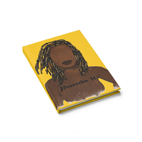 Proverbs 31 Locs Journal - Ruled Line - Obsidian's LLC