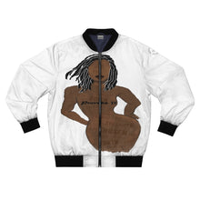 Load image into Gallery viewer, Proverbs 31 Loc Lady Bomber Jacket (AOP) - Obsidian's LLC