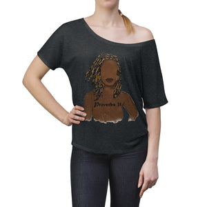 Proverbs 31 Loc Slouchy Top - Obsidian's LLC