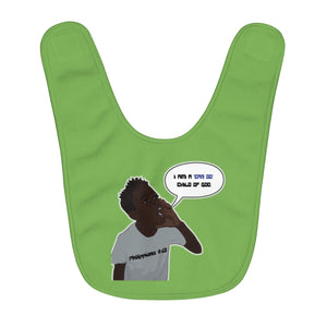 Kingston Fleece Baby Bib - Obsidian's LLC