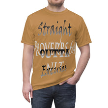 Load image into Gallery viewer, Straight Outta Excuses Tee (AOP) - Obsidian's LLC