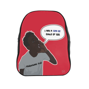 Kingston's School Backpack - Obsidian's LLC