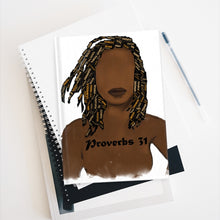 Load image into Gallery viewer, Proverbs 31 Locs Journal - Ruled Line - Obsidian's LLC